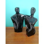 Image of Art Deco Abstract Modernist Figurines - Pair