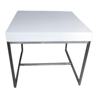 ABC Home White Modern Desk