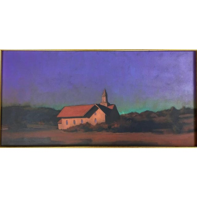 """Chapel on the Pond, North Truro"" Painting - Image 3 of 7"