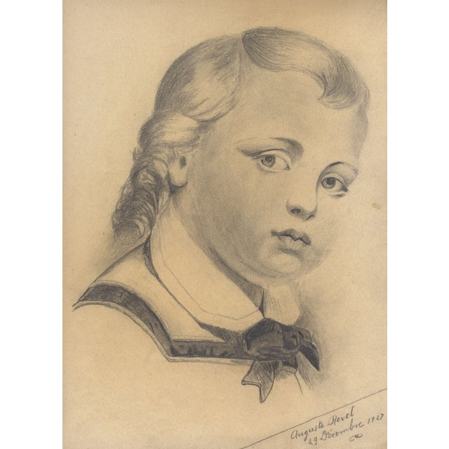 Image of Fine Art Portrait of a Young Boy by A. Ravel