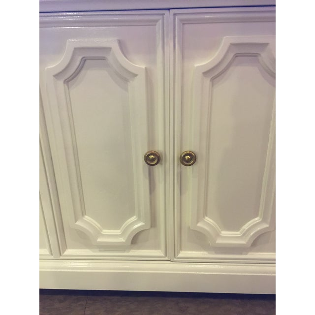 Image of Marble Topped Small Credenza