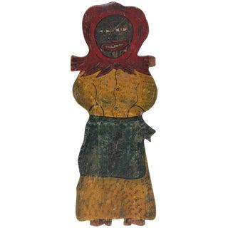 Large Handmade Folk Art Mammy Carnival Art