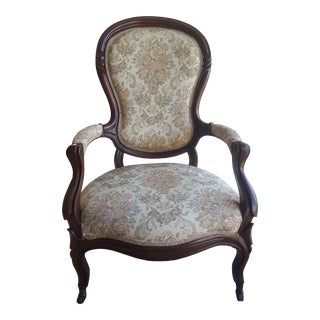 Hand Carved Antique Victorian Chair