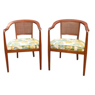 GrandLedge Chair Company Cane Back Chairs - Pair