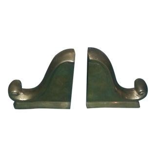 Brass Bookends - A Pair
