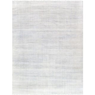 "Pasargad Transitional Silk & Wool Area Rug - 8'11"" X 11'10"""