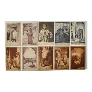 "Circa 1910 Lehnert & Landrock ""Faces of North Africa"" Photo Cards- Set of 10"