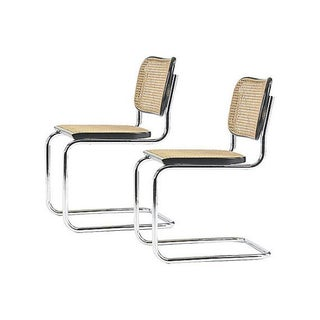 Cesca Style Cane Chairs - A Pair
