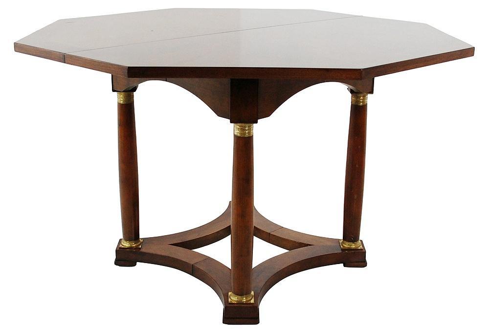 Baker Vintage Regency Style Dining Table Chairish : 4ef4249a cb1b 48c9 a18b ab766f7ff077aspectfitampwidth640ampheight640 from www.chairish.com size 640 x 640 jpeg 23kB