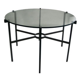 French Modern Neoclassical Dining Table Base in the Manner of Marc Duplantier