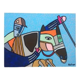 'They're Off' Contemporary Folk Artist B.D.Floyd