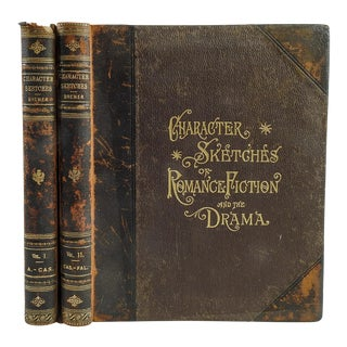'Character Sketches of Romance' Books - A Pair
