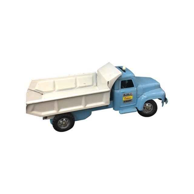 Image of 1950's Buddy L Hydraulic Toy Dump Truck