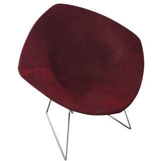 Knoll Bertoia Red Diamond Lounge Chair
