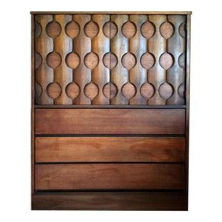 Mid-Century Kroehler Highboy Dresser