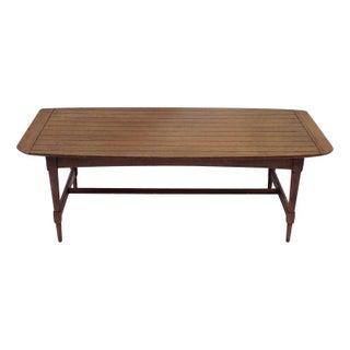 Mid-Century Modern Wooden Coffee Table