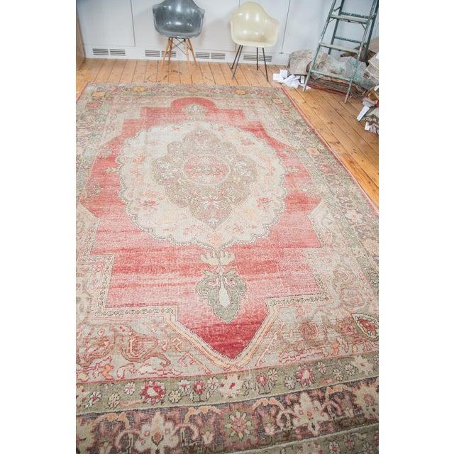 "Distressed Oushak Carpet - 7'6"" X 12'6"" - Image 5 of 10"