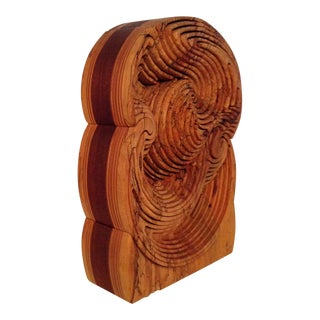 Bob Ameri 3-D Wood Puzzle Sculpture