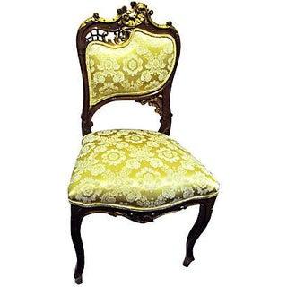 Antique 19th C. Art Nouveau French Side Chair