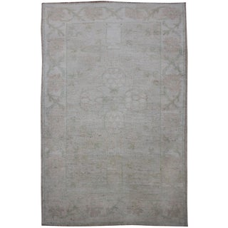 "Aara Rugs Inc. Hand Knotted Oushak Rug - 4'11"" x 3'5"""