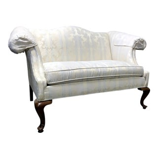Drexel Traditional Classics Queen Anne Camel Back Loveseat Settee