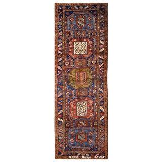 Vintage Persian Karaje Rug - 3'1''x9'11''