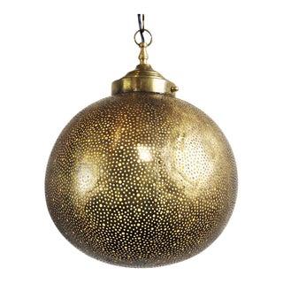 Brass Globe Lantern