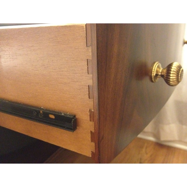 Bob Mackie Signature Bowed Rosewood Nightstand - Image 6 of 9