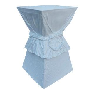 John Dickinson Attribute Plaster Pedestal