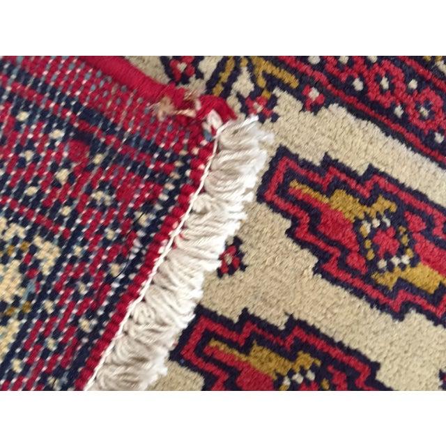 "Turkaman Persian Handmade Rug - 1'8"" x 3'5"" - Image 9 of 9"