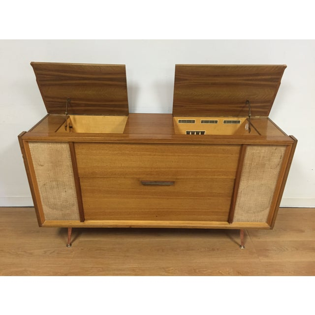 Mid-Century Saba German Radio Console - Image 8 of 11