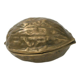 Brass Walnut Nut Cracker