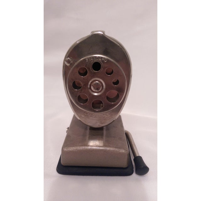 Vintage Boston Vacuum Mount Pencil Sharpener - Image 5 of 10