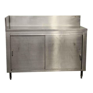 Stainless Steel Two Door Cabinet