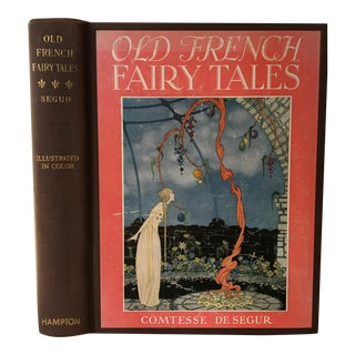 1920 Old French Fairy Tales Book