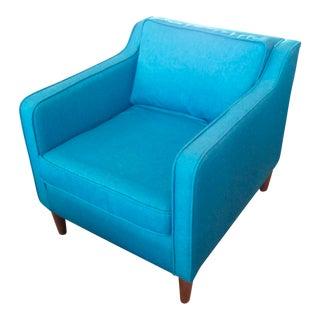 Ocean Teal Slope Armchair
