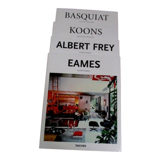 Taschen Koons, Frey, Basquiat & Eames Book Collection - Set 4