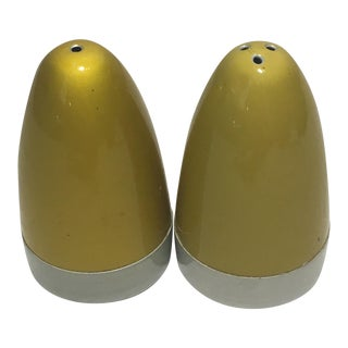 Vintage Atomic Salt & Pepper Shakers
