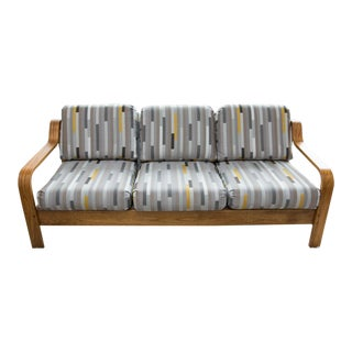 Midcentury Bentwood Sofa by Taylor Ramsey