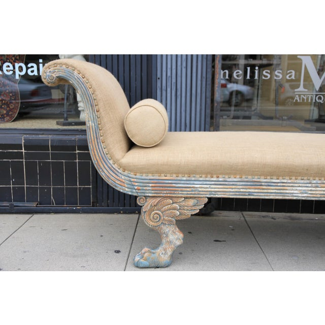 Image of American Painted Chaise C. 1920