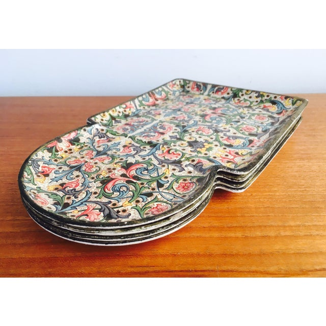1960's Mod Stacking Serving Plates - Image 3 of 7
