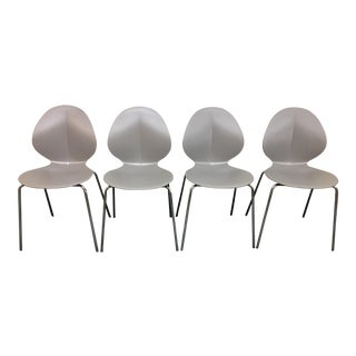 Calligaris Modern Basil Stackable Chair - Set of 4