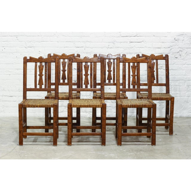 Image of Vintage Argentinian Dining Chairs - Set of 6