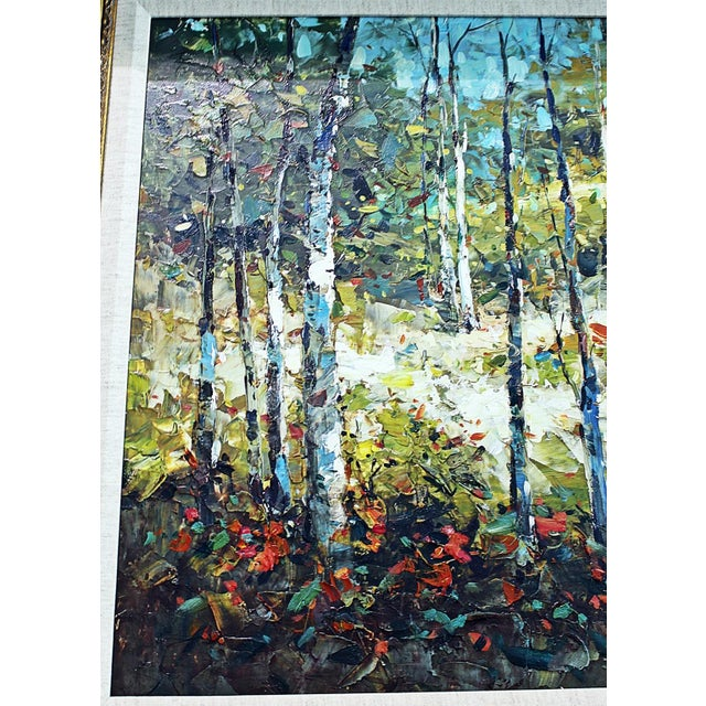 Image of Palette Knife Oil Painting
