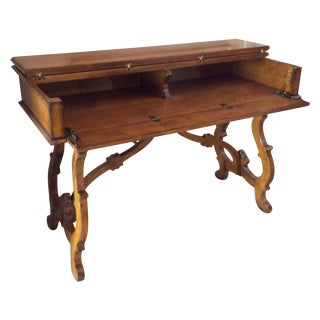Traditional Wooden Stand-Up Desk
