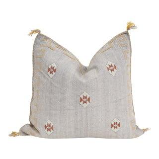 Moroccan Sabra Cactus Silk Pillow
