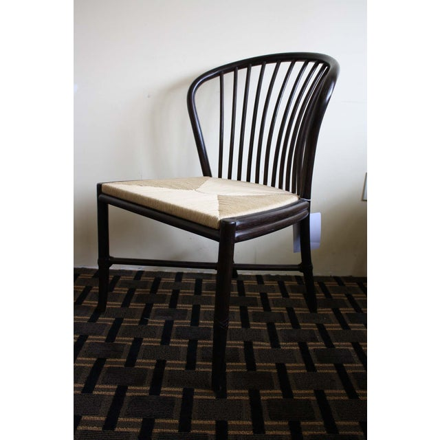 McGuire Ulloa Dining Chair in Dark Tobacco - Image 3 of 6