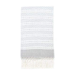 Gray Handwoven Chiapas Throw