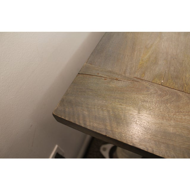 Primitive French Country Dining Table - Image 10 of 11