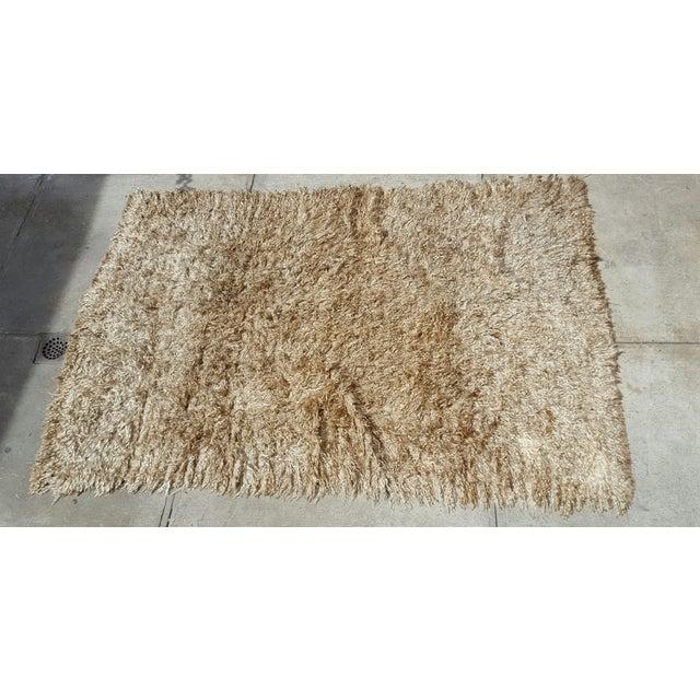 """Madeline Weinrib Mongolian Wool Rug - 8' x 10"""" - Image 3 of 5"""